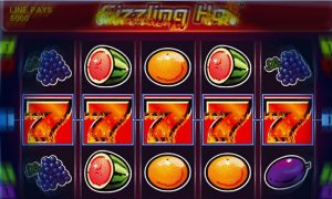 Sizzling Hot Spielautomat online
